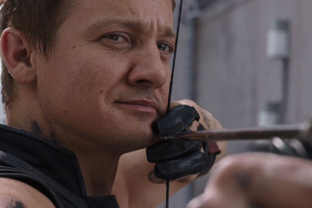 Whether Hawkeye or Ronin -- does the Avengers' Clint Barton have a literal eagle eye?