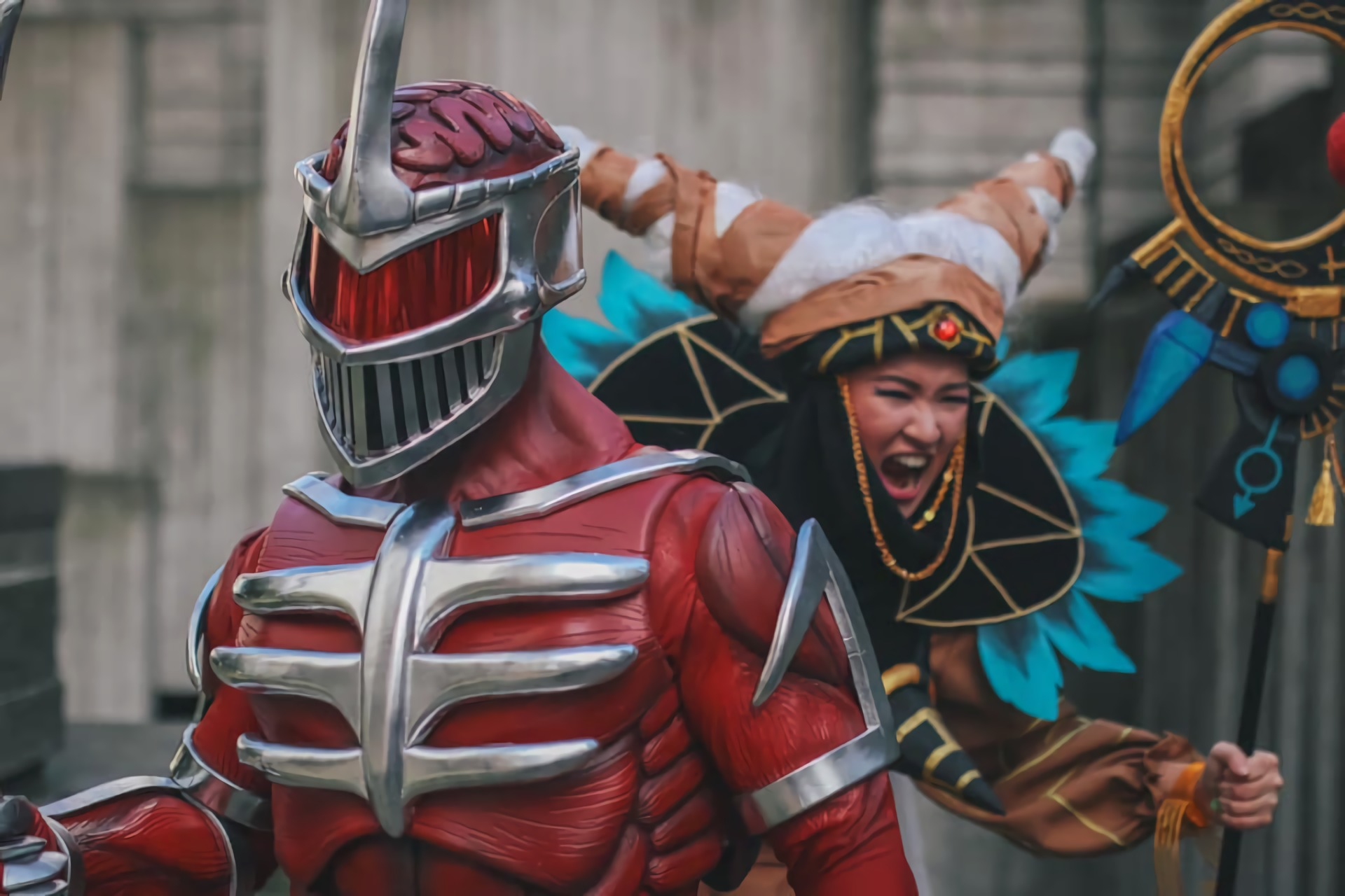 Mighty Morphin' Power Rangers: Lord Zedd and Rita Repulsa cosplays by Nerd_Alert and Mae Uy