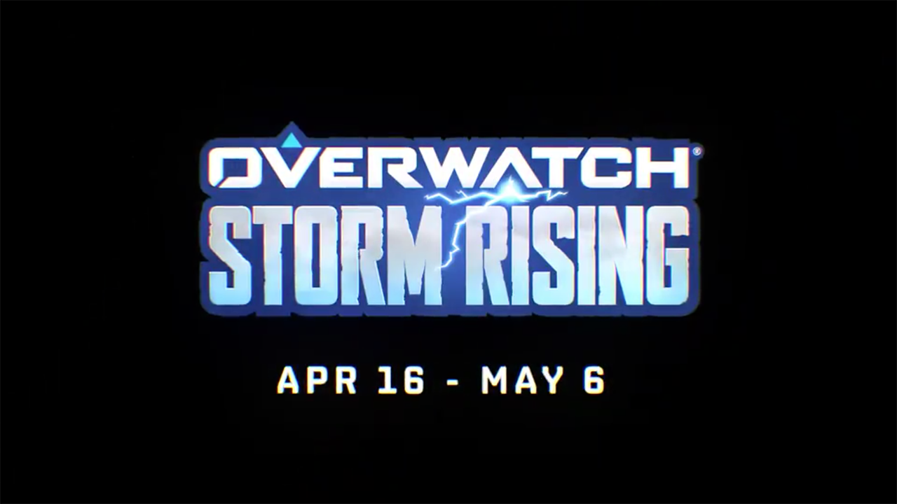 Overwatch: Storm Rising confirmed for next week