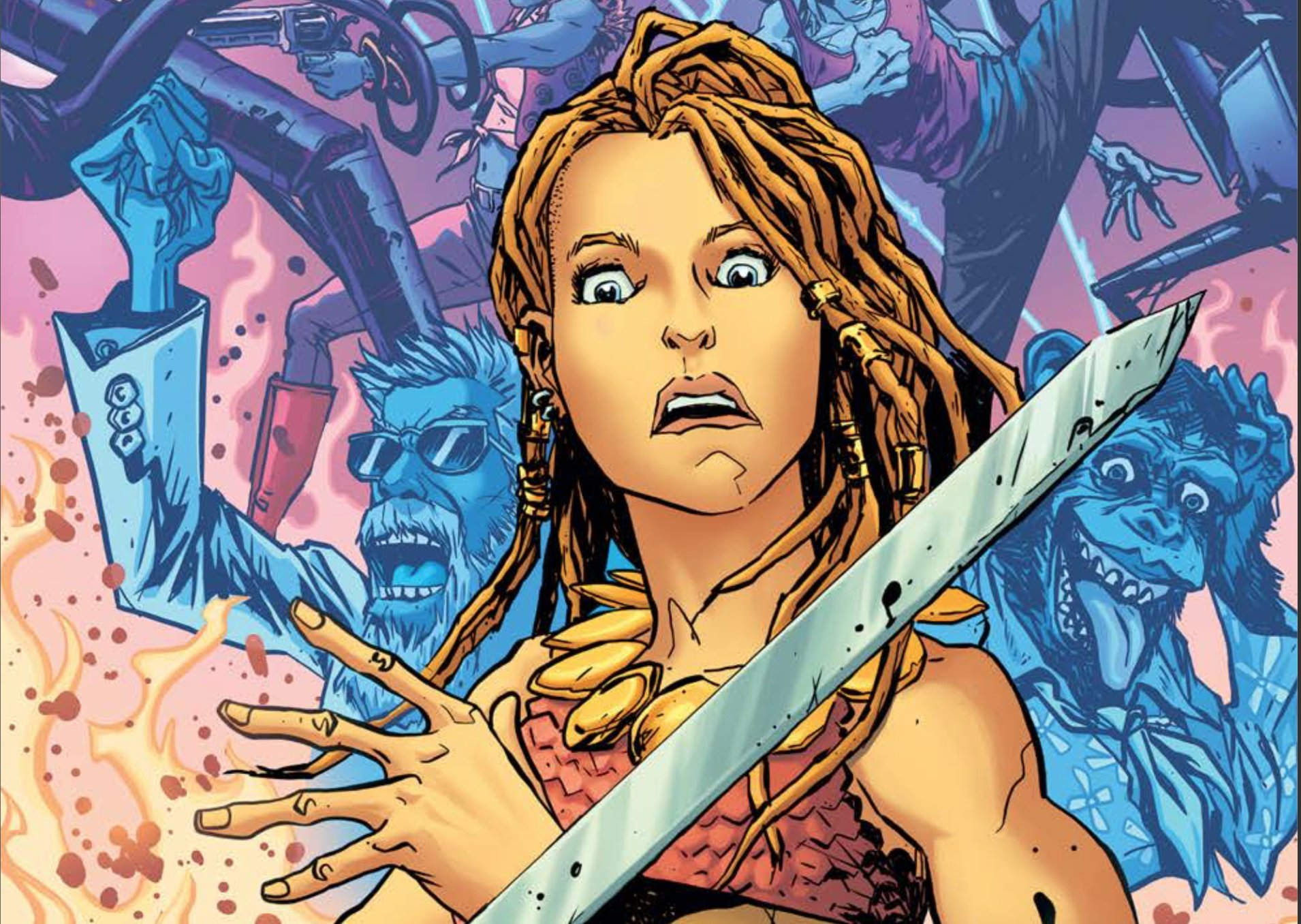 Bronze Age Boogie #1 Review