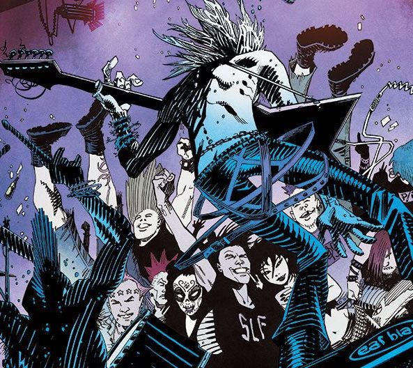 The cast of Deadly Class is penned with Remender's trademark ferocity.