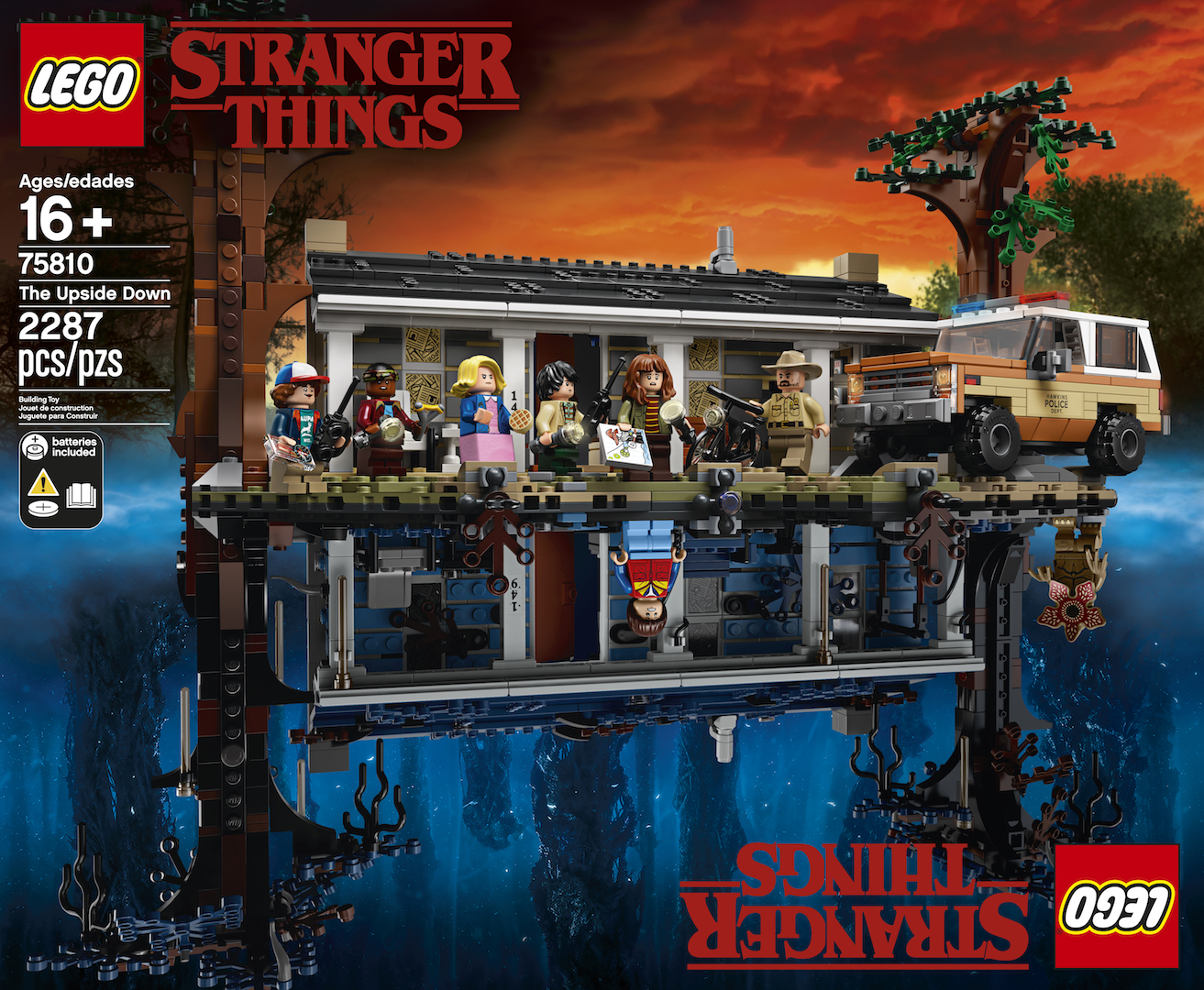 First Look: LEGO Stranger Things: The Upside Down set