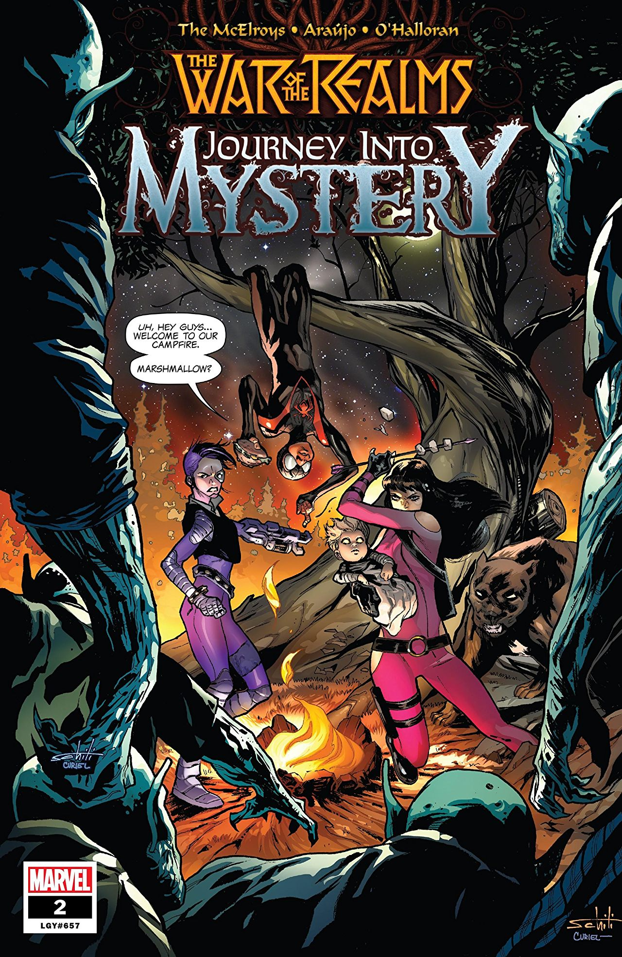 Marvel Preview: The War of the Realms: Journey Into Mystery #2
