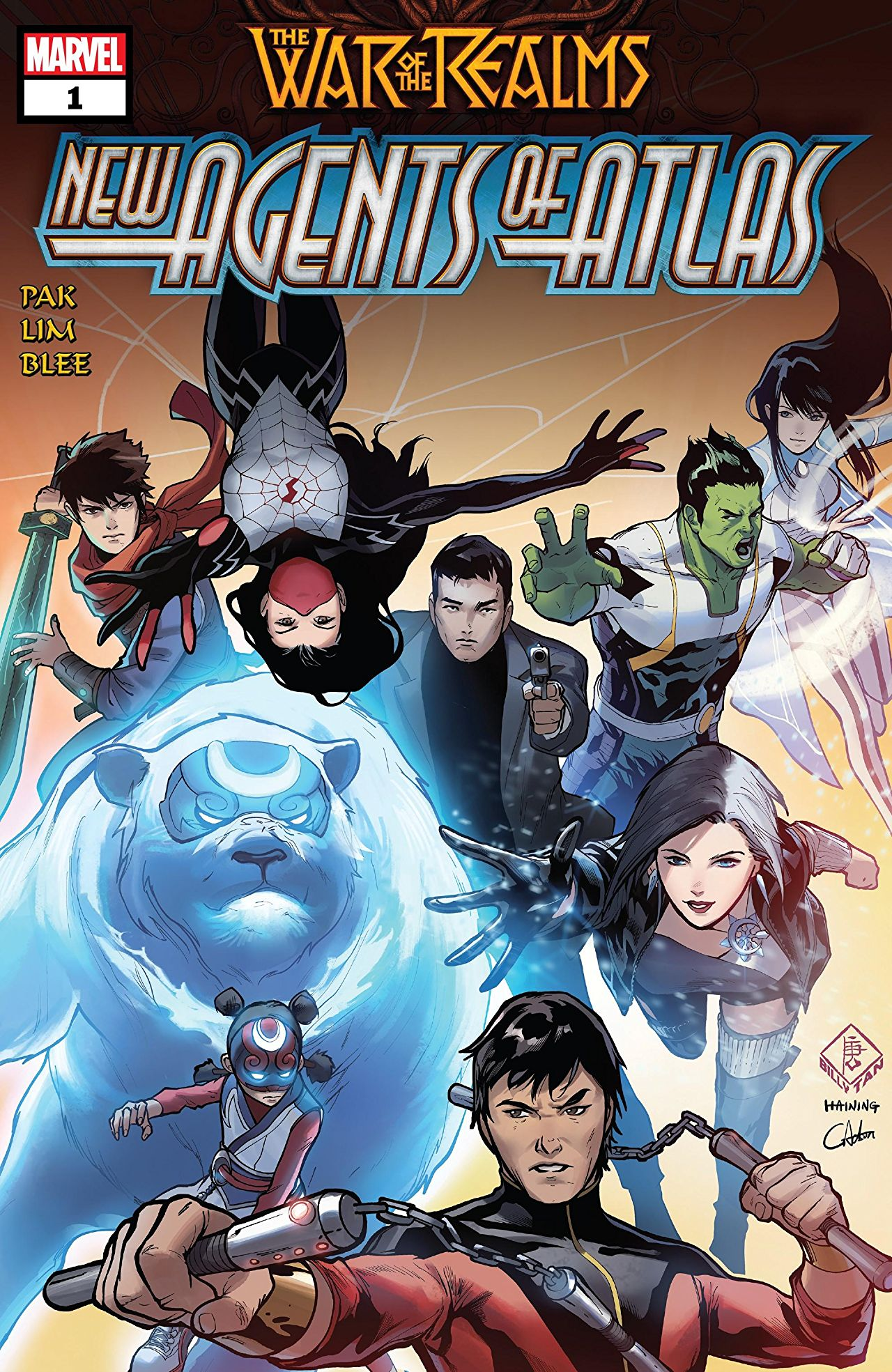 Marvel Preview: The War of the Realms: New Agents of Atlas #1