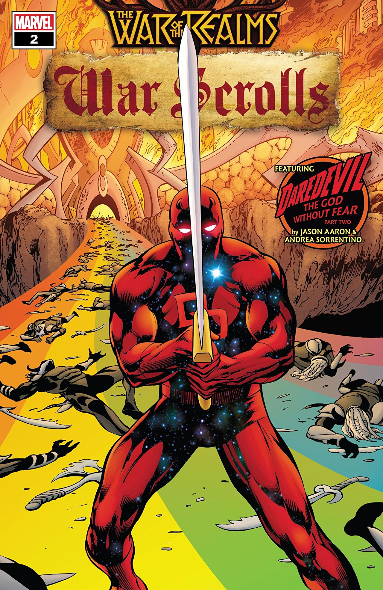 THE MUST-READ COMPANION TO THE WAR OF THE REALMS!