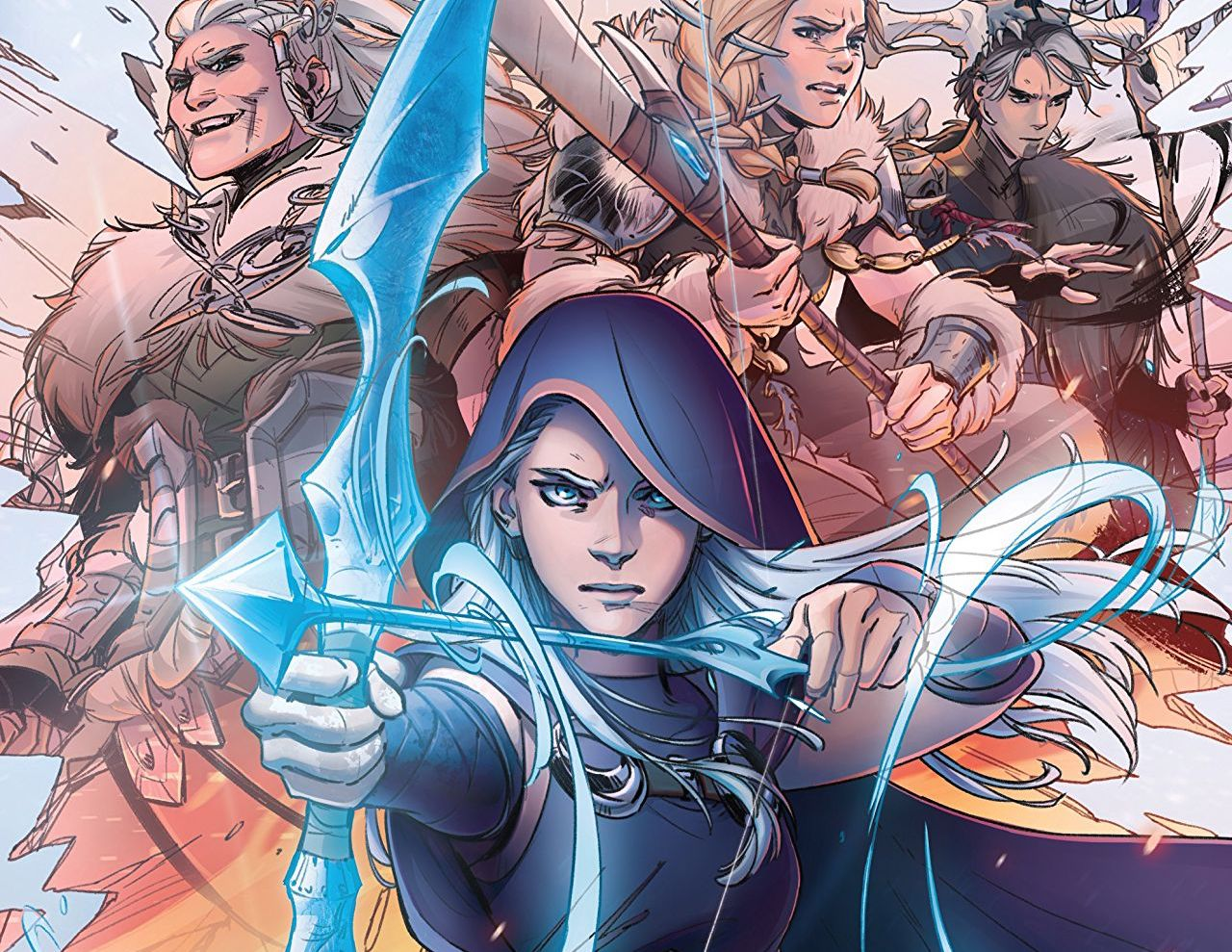 Experience League of Legends in its very first comic from Marvel Comics.