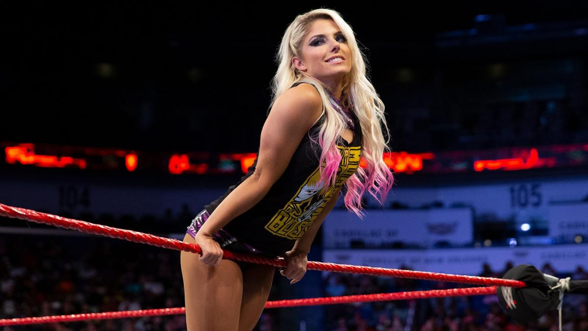 Alexa Bliss has been removed from the Money in the Bank ladder match