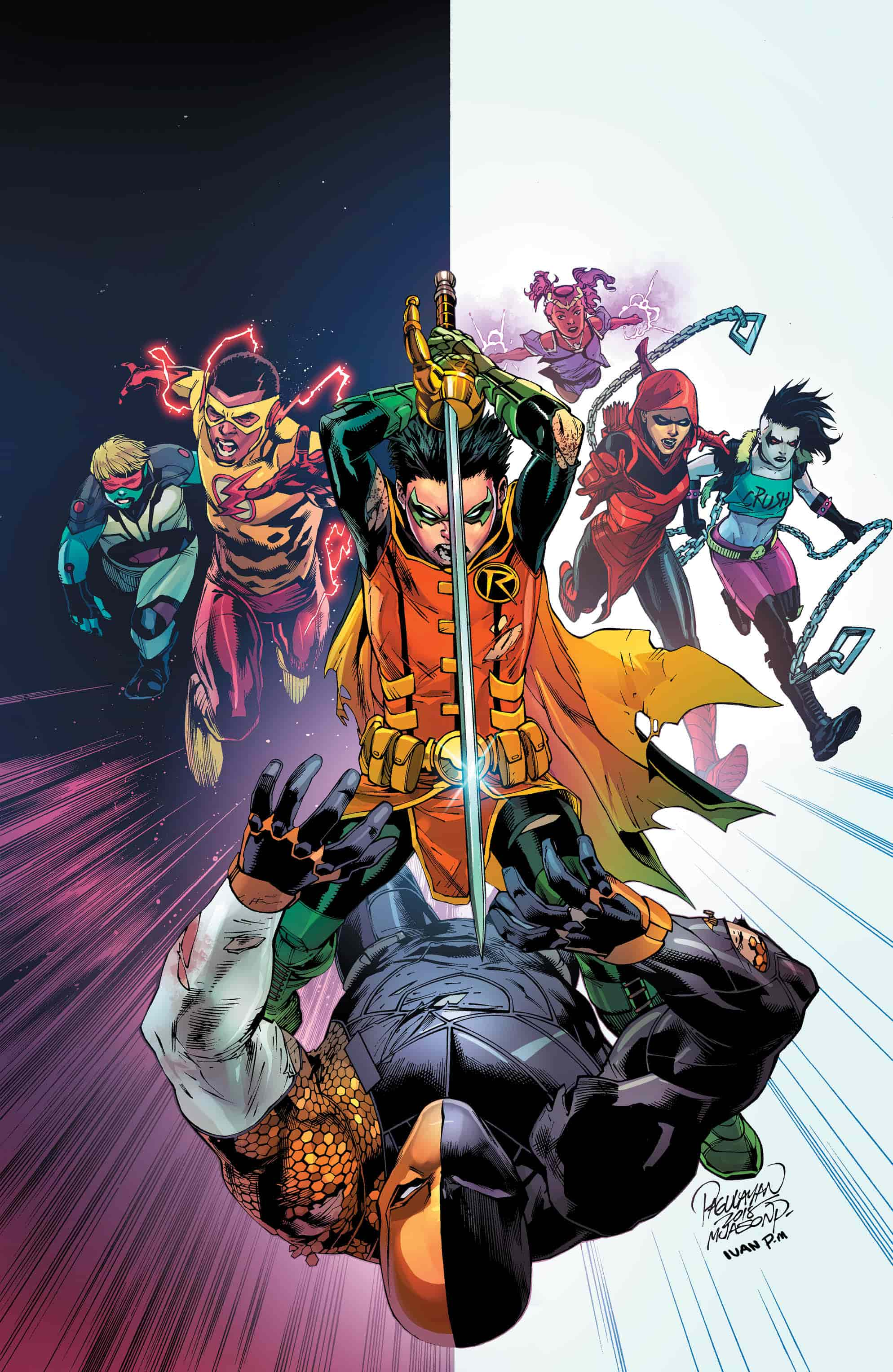 *This review contains spoilers for Deathstroke #43*