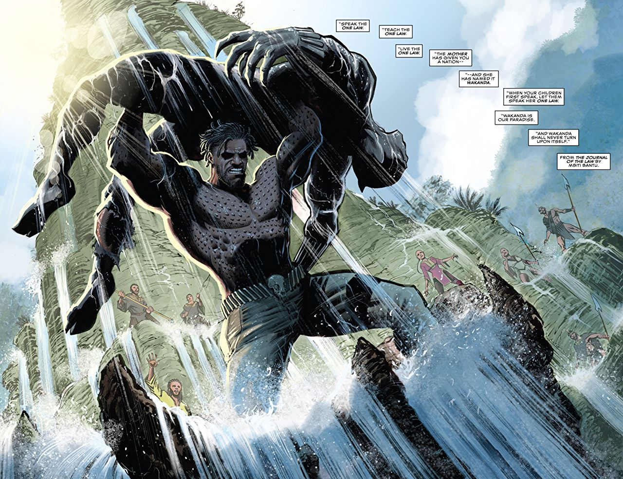 An in-depth look at the origins of Black Panther's archenemy.