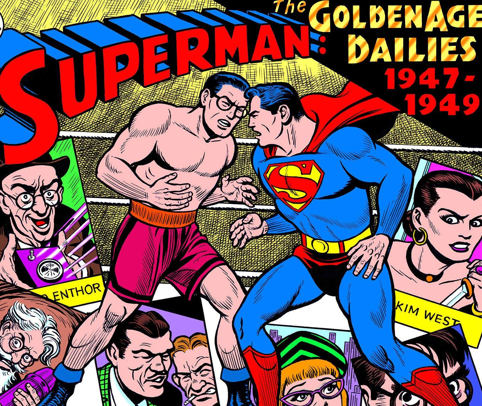 Superman Golden Age Newspaper Dailies 1947-49 review