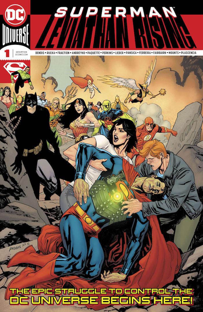 DC Preview: Superman: Leviathan Rising Special #1