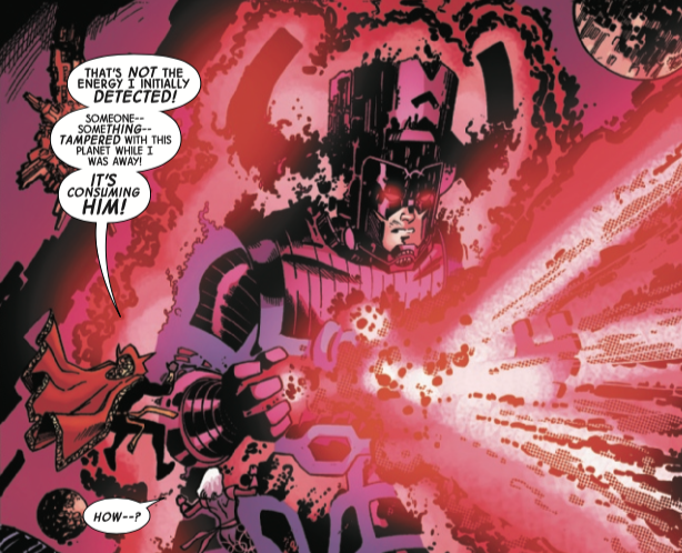 Galactus is more powerful than ever thanks to Mark Waid's 'Doctor Strange' #14