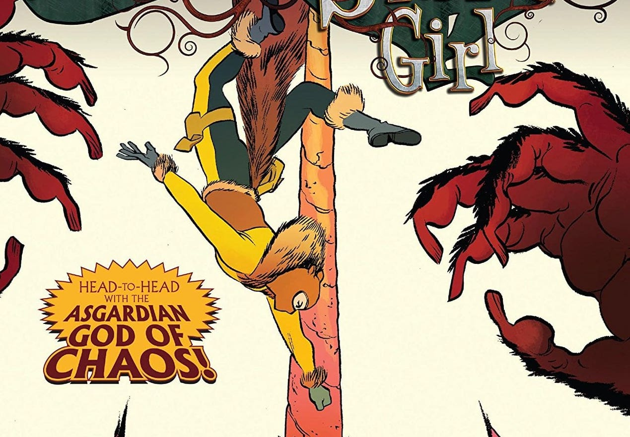 North and Charm take Squirrel Girl take Squirrel Girl to a new level in the only War of the Realms Tie-In you NEED to get.