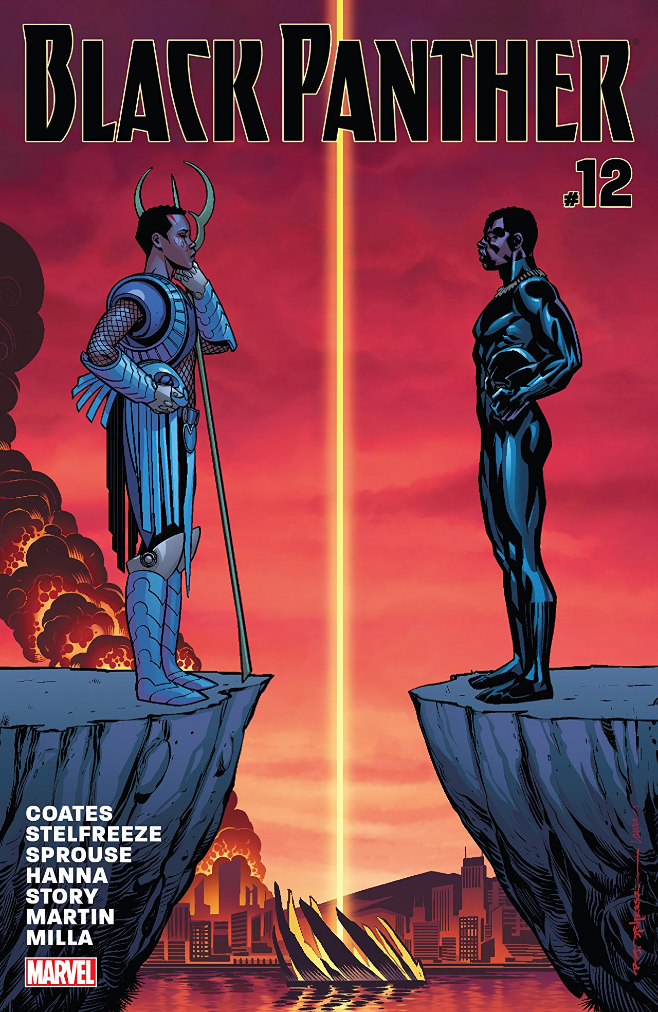 Marvel Preview: Black Panther #12