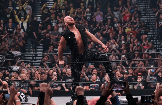 Jon Moxley makes surprise debut at AEW Double or Nothing