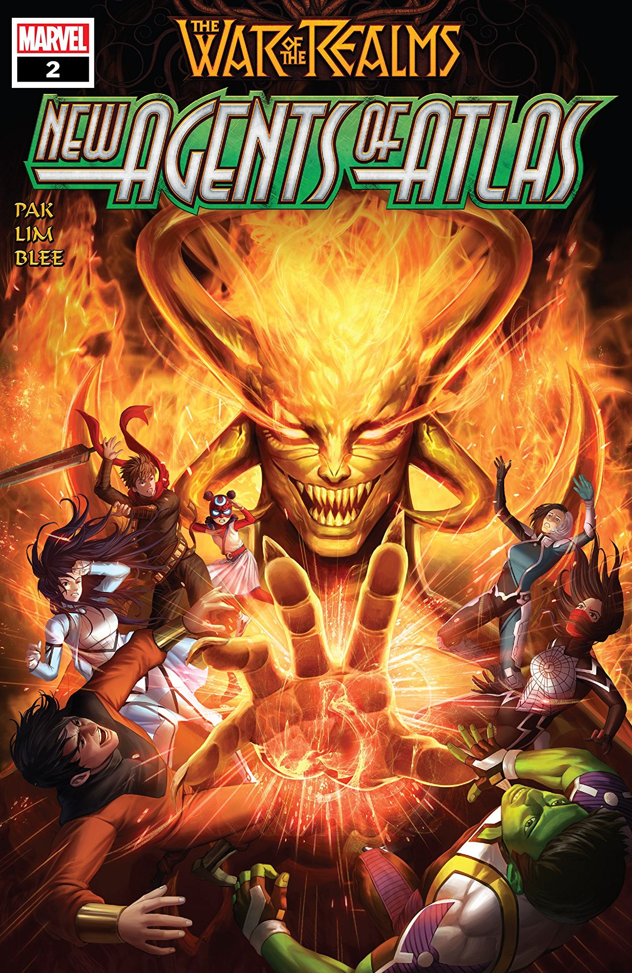 Marvel Preview War Of The Realms New Agents Of Atlas 2019