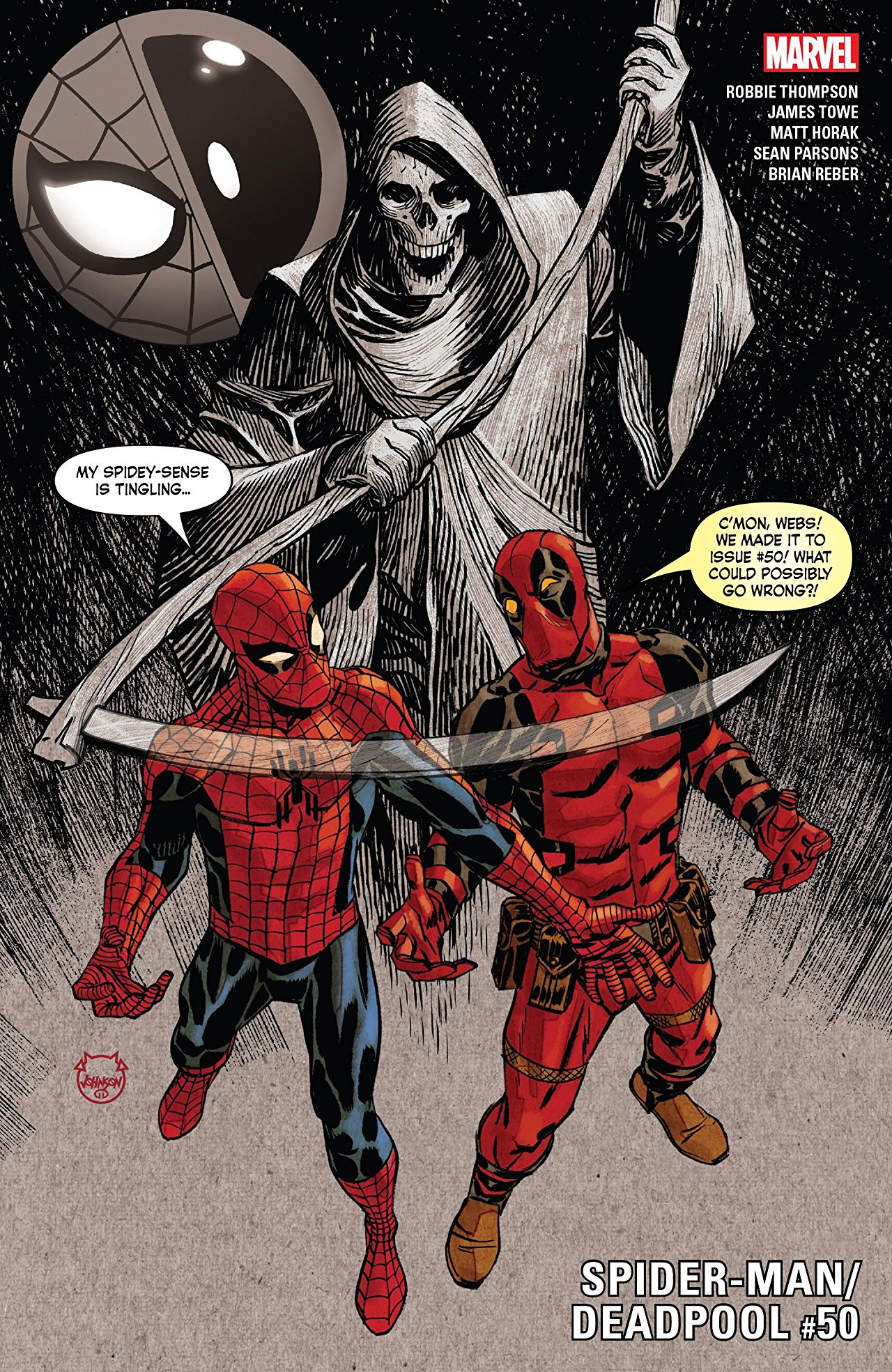 Marvel Preview: Spider-Man/Deadpool #50