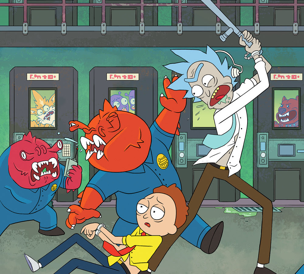 Reaching 'Rick and Morty' #50: Marc Ellerby discusses the hit Oni Press series