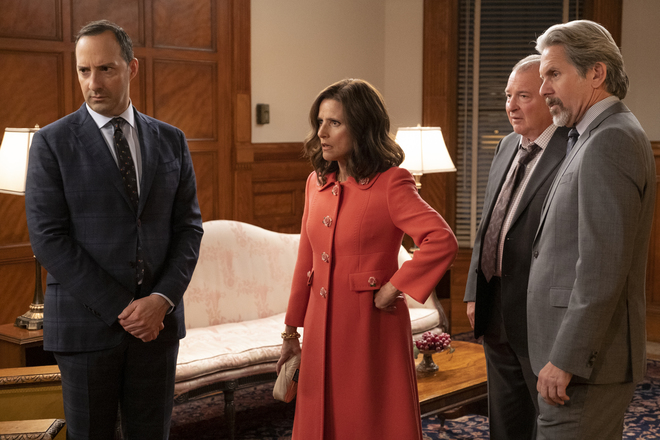 As 'Veep' heads into its last episode, things start to spiral out of control.