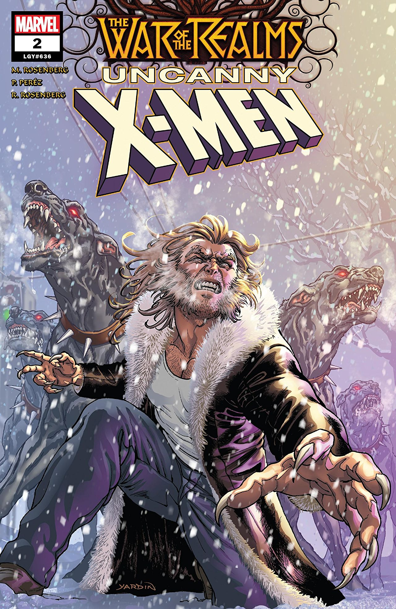 Marvel Preview: War of the Realms: Uncanny X-Men #2