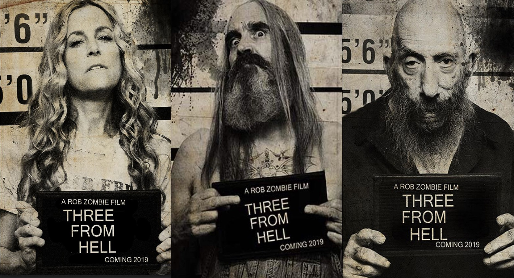 The Firefly family is back to raise hell in Rob Zombie's teaser trailer for 3 From Hell.