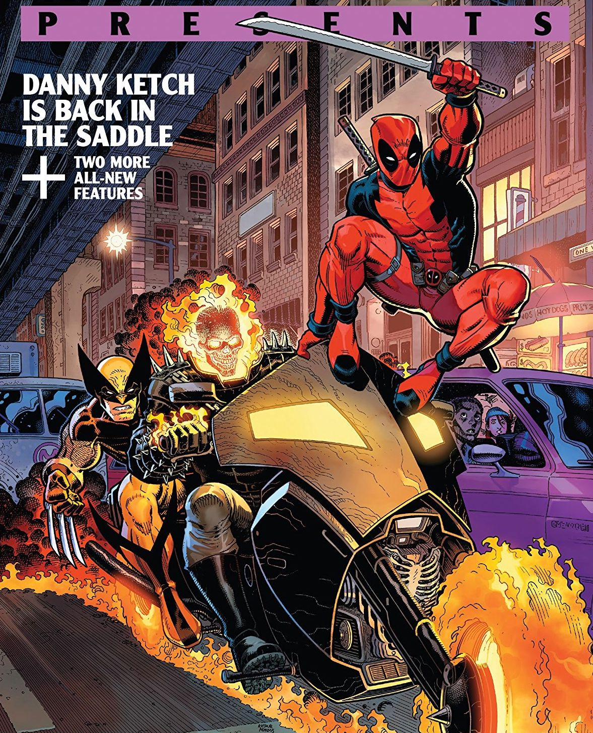 Marvel Comics Presents #6 review: Riding into the '90s with Wolverine, Deadpool and Ghost Rider