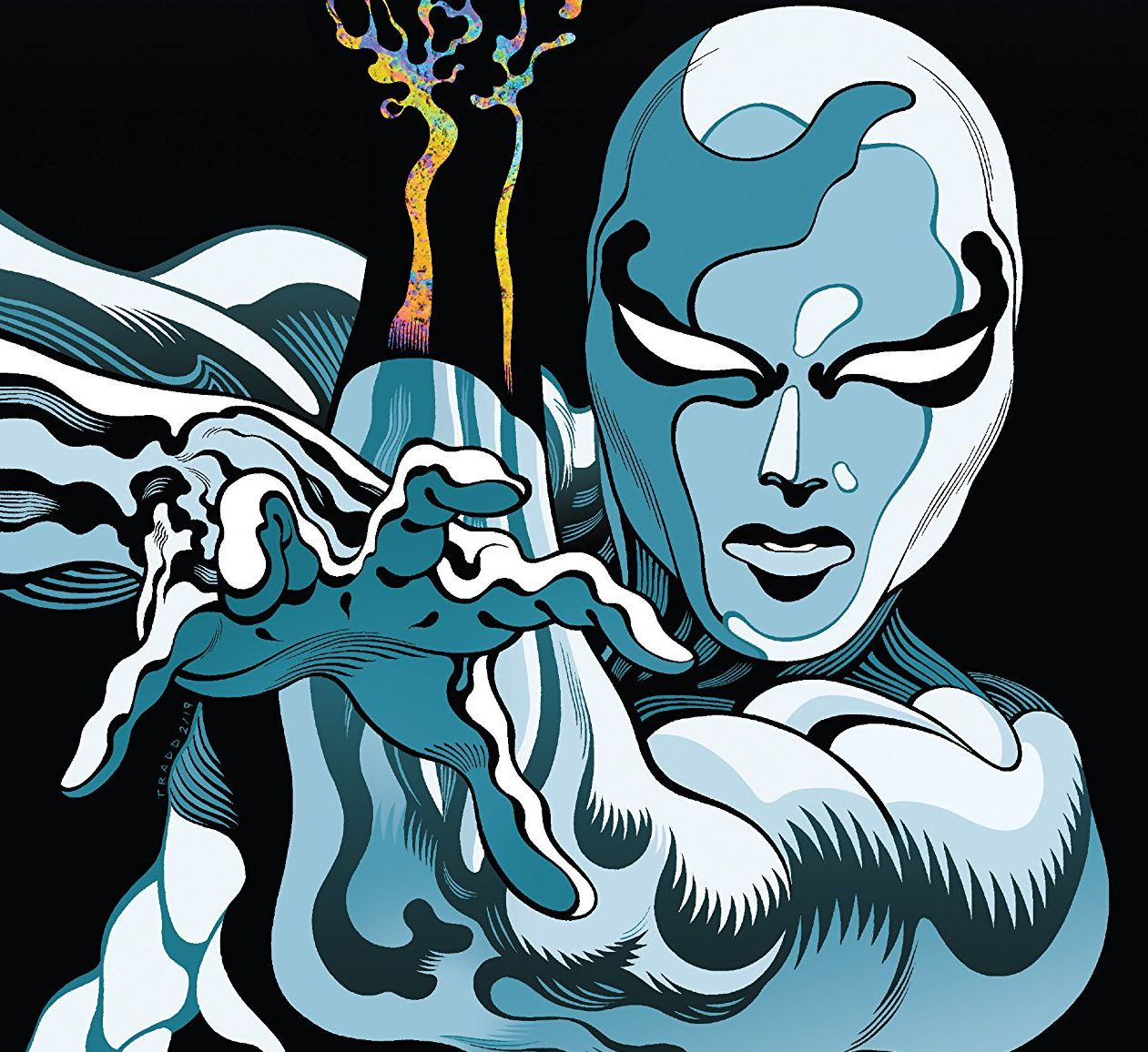 Silver Surfer Black #1 review: Cates and Moore bring the big guns