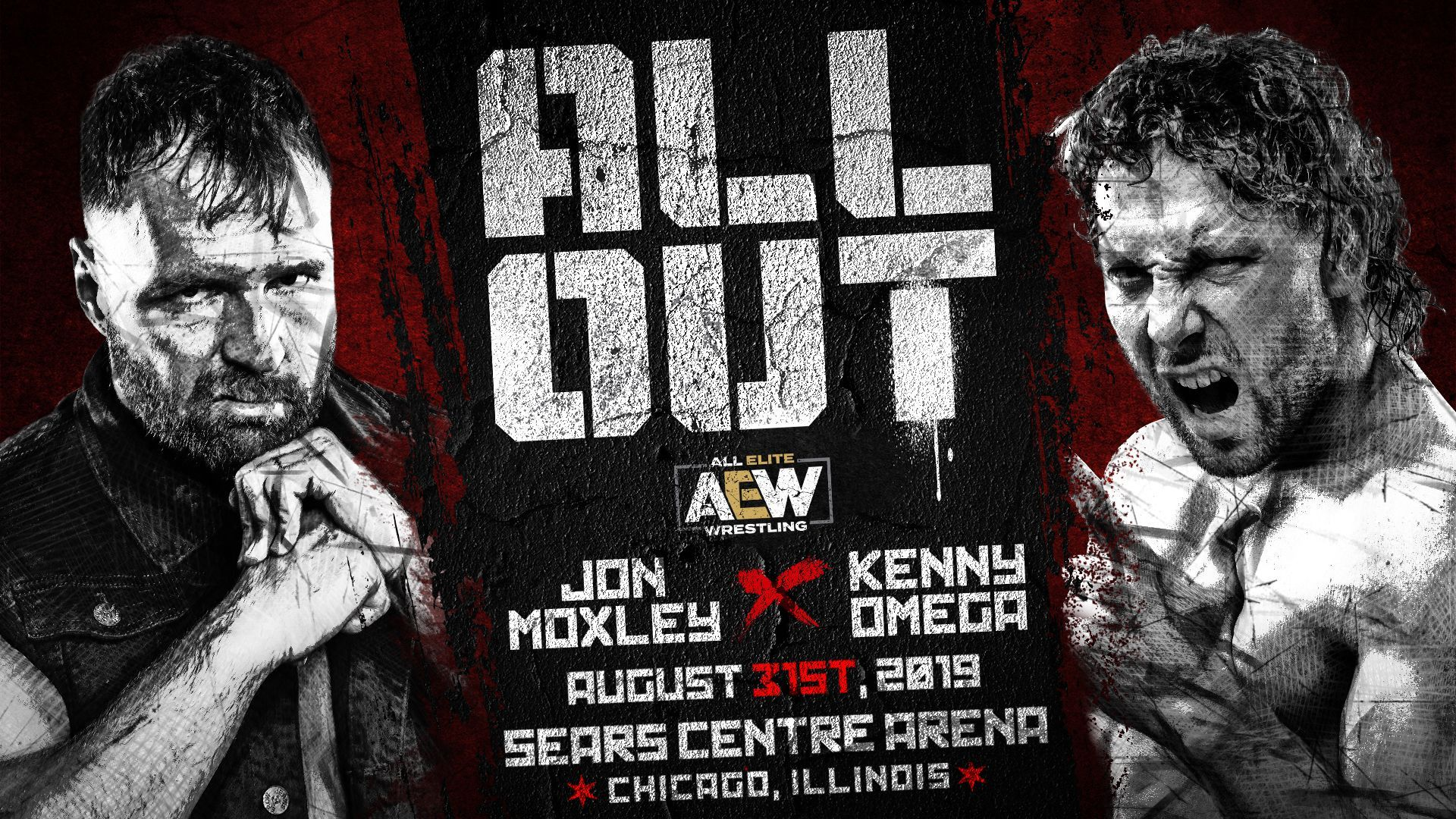 Jon Moxley vs. Kenny Omega official for AEW All Out