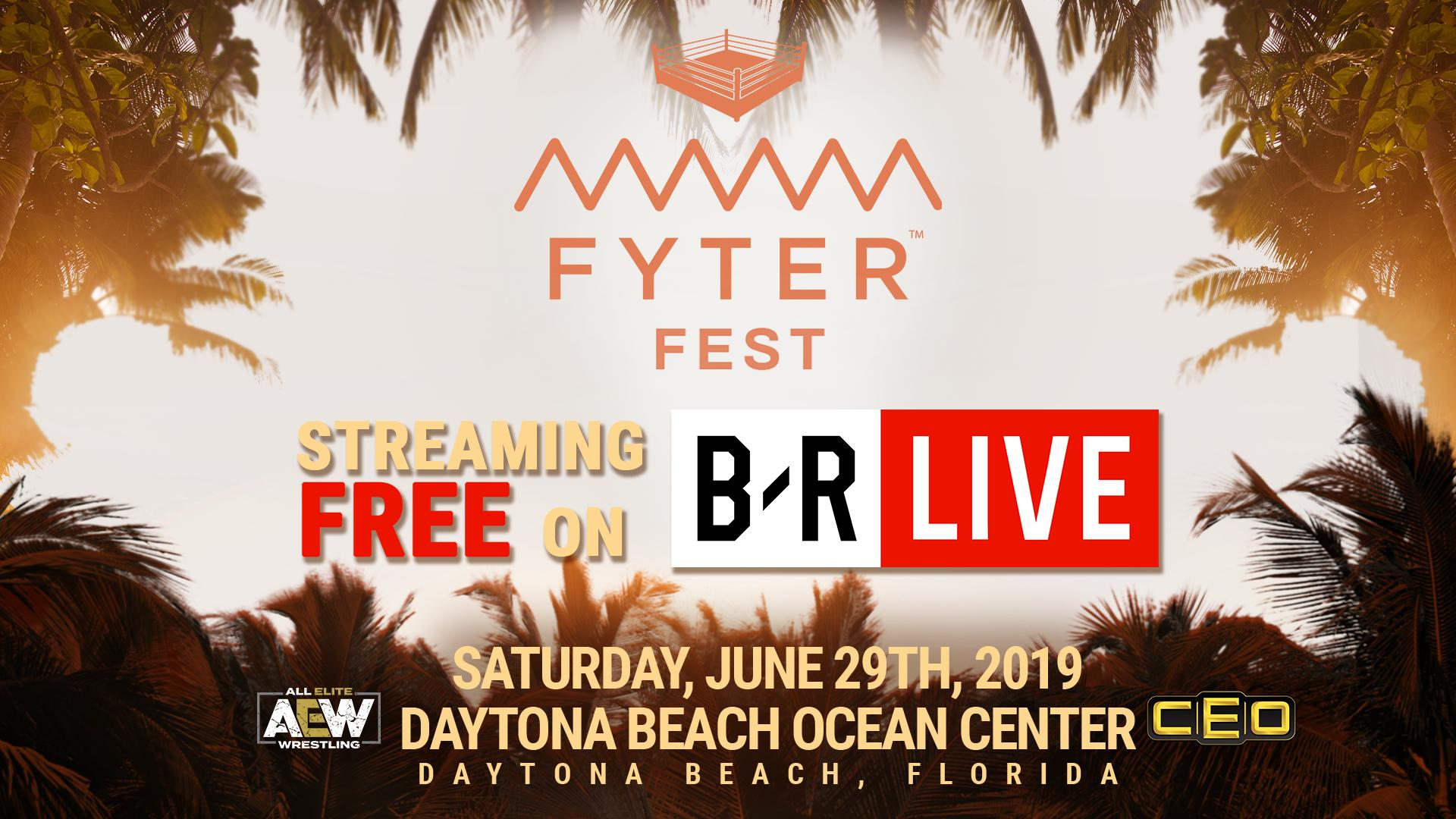 Catch Fyter Fest, AEW's next major show, free of cost.