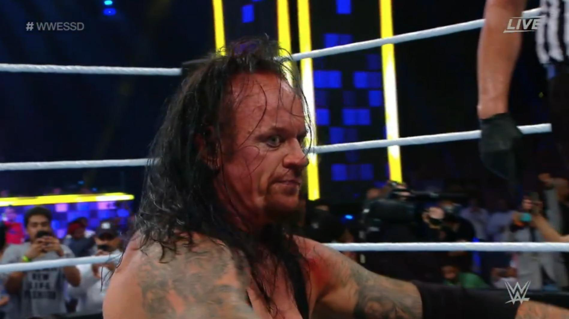 Undertaker vs. Goldberg was a fitting end to a show that shouldn't have happened