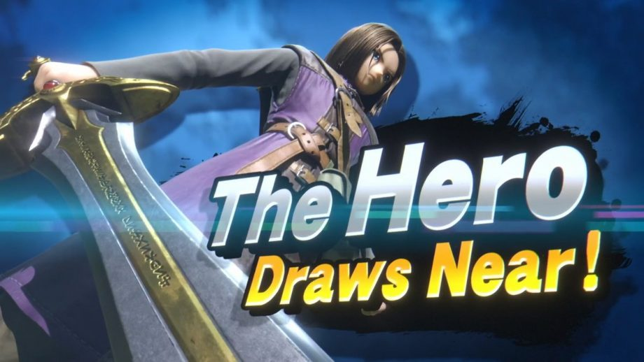 The Hero from Dragon Quest 11 is the next Smash Ultimate DLC fighter