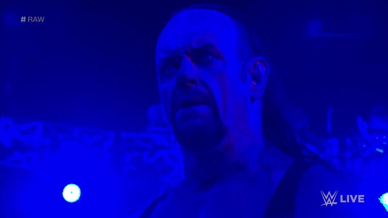 The Undertaker just returned on WWE Raw