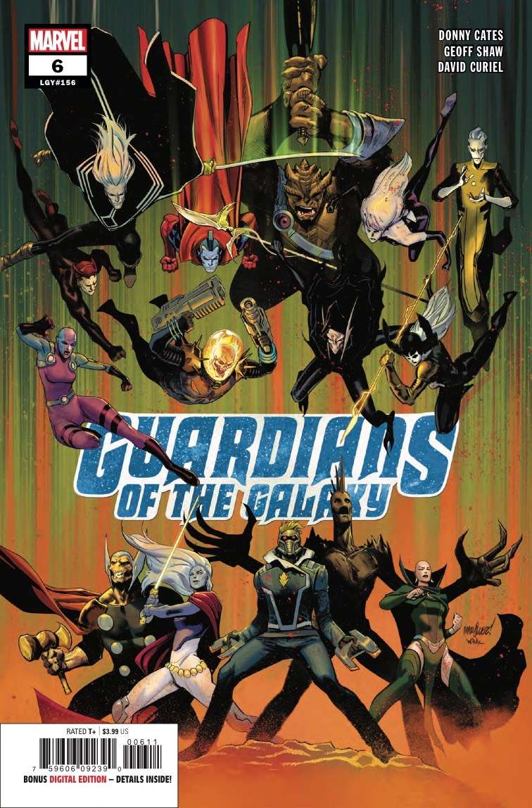 Guardians of the Galaxy vs. the Dark Guardians vs. Hela and the Black Order!