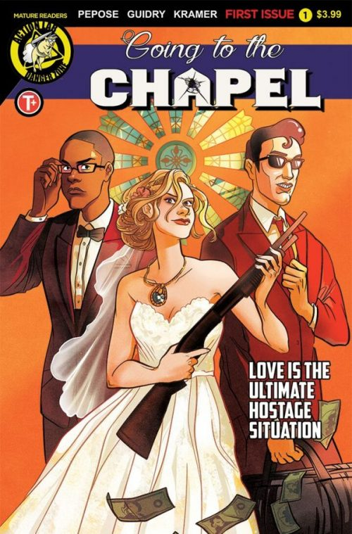 A tale of love and robbers: David Prepose talks new series 'Going to the Chapel'