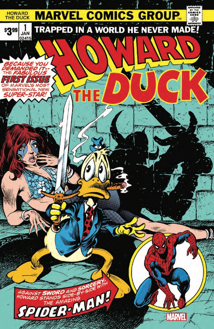 Marvel Preview: Howard The Duck #1 (Facsimile Edition)
