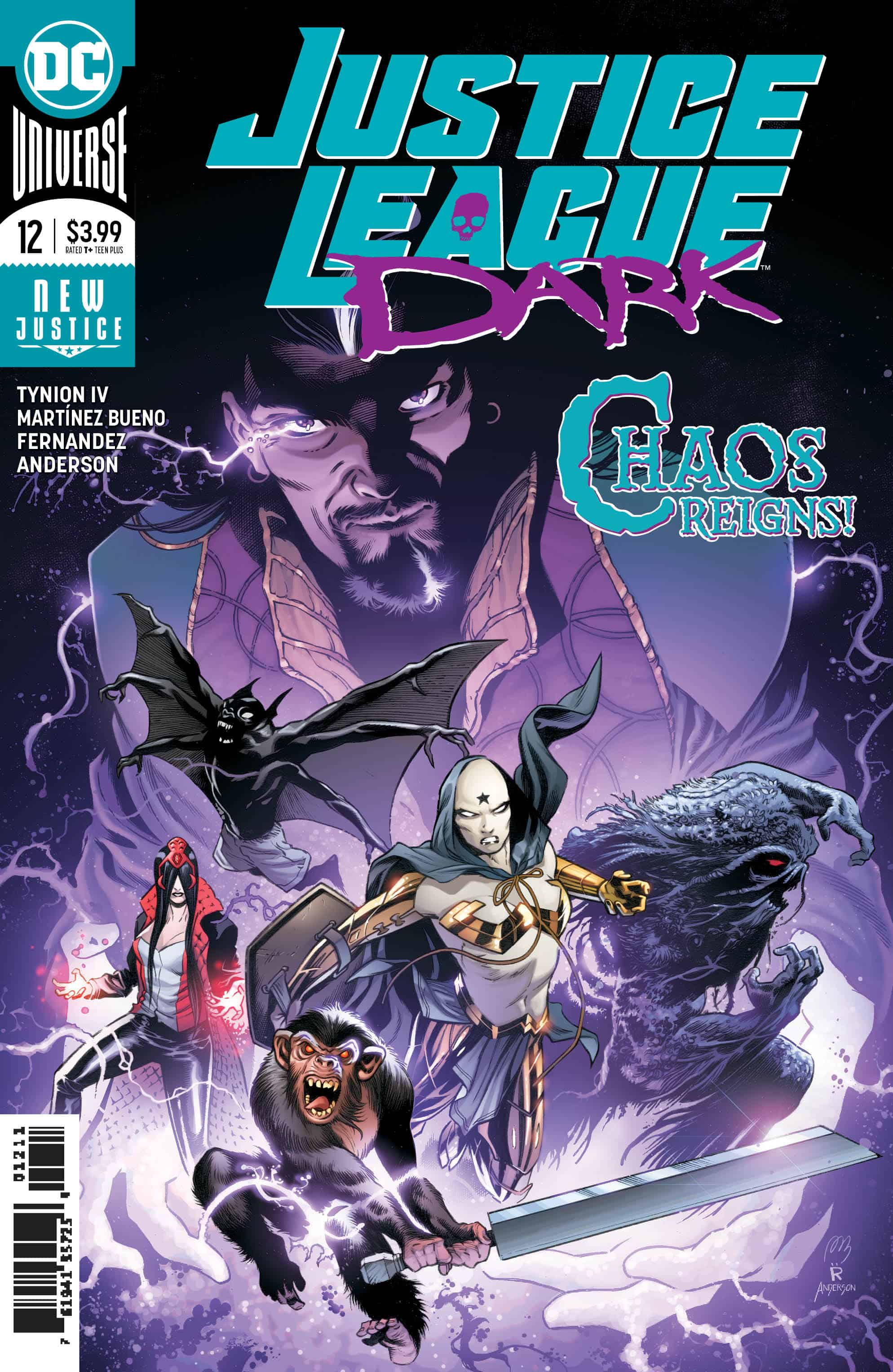 Justice League Dark #12 Review