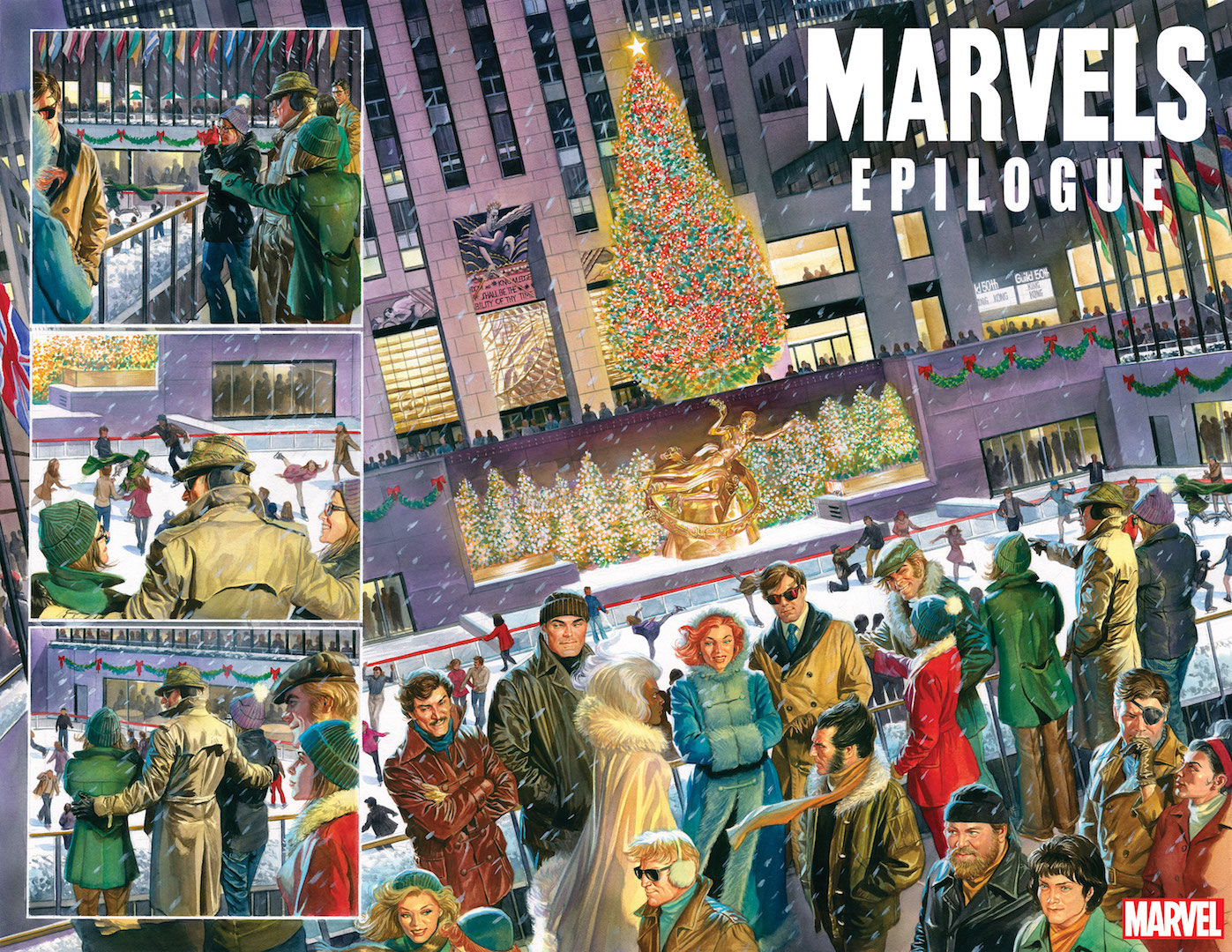 First Look: Alex Ross and Kurt Busiek's Marvels gets an X-Men 70s 16-page story.