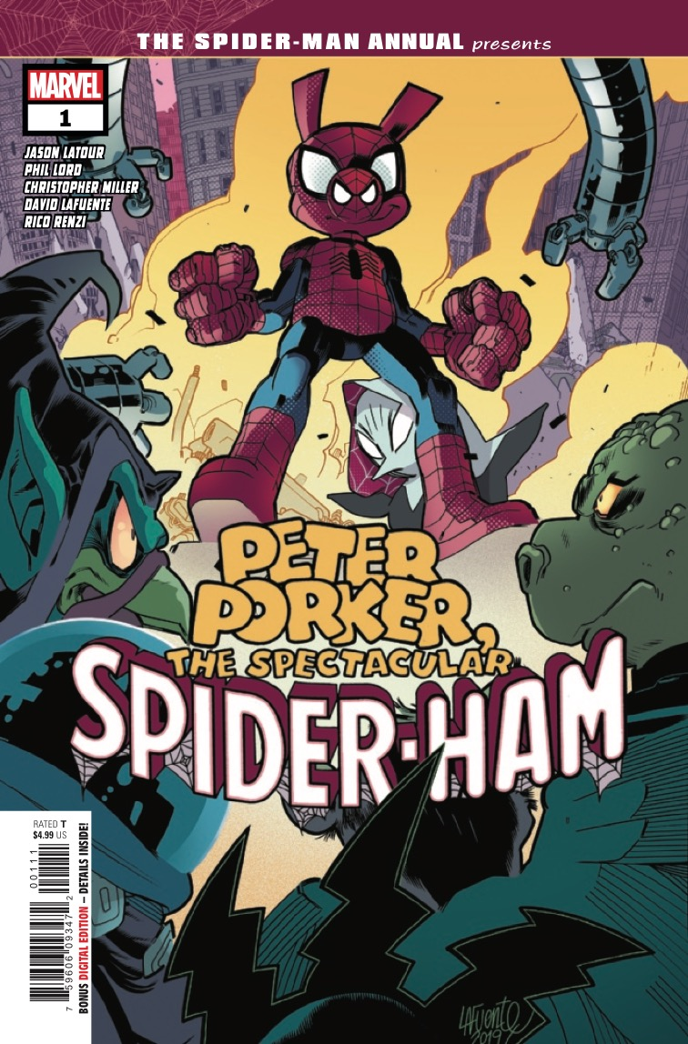 The spectacular Spider-Ham gets his own annual!