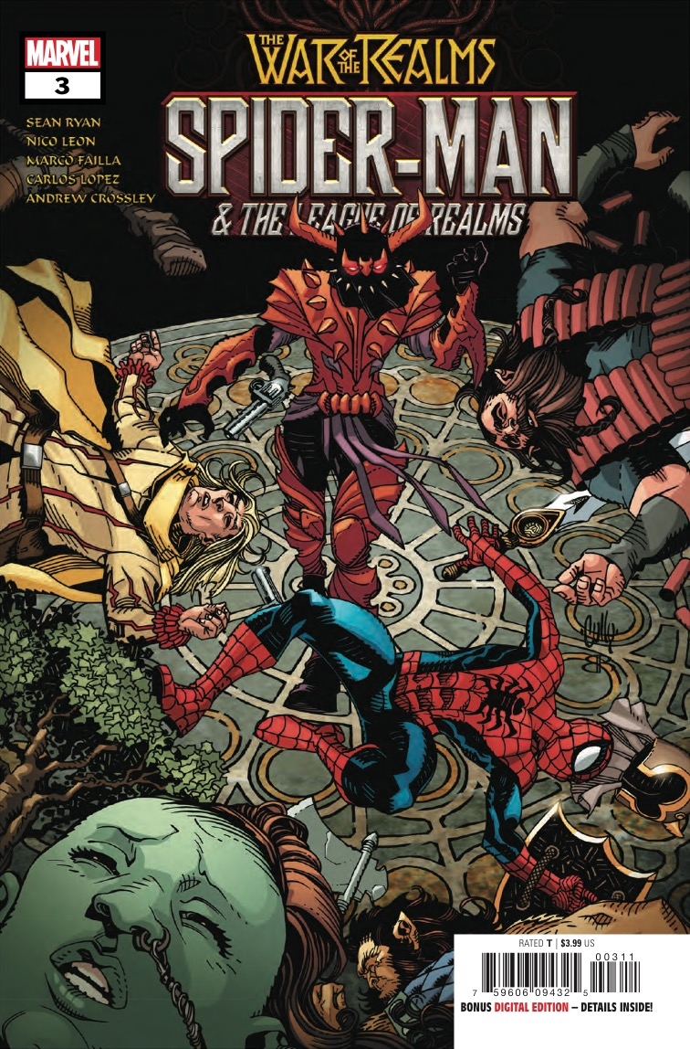 Marvel Preview: Spider-Man & The League Of Realms (2019) #3 (of 3)
