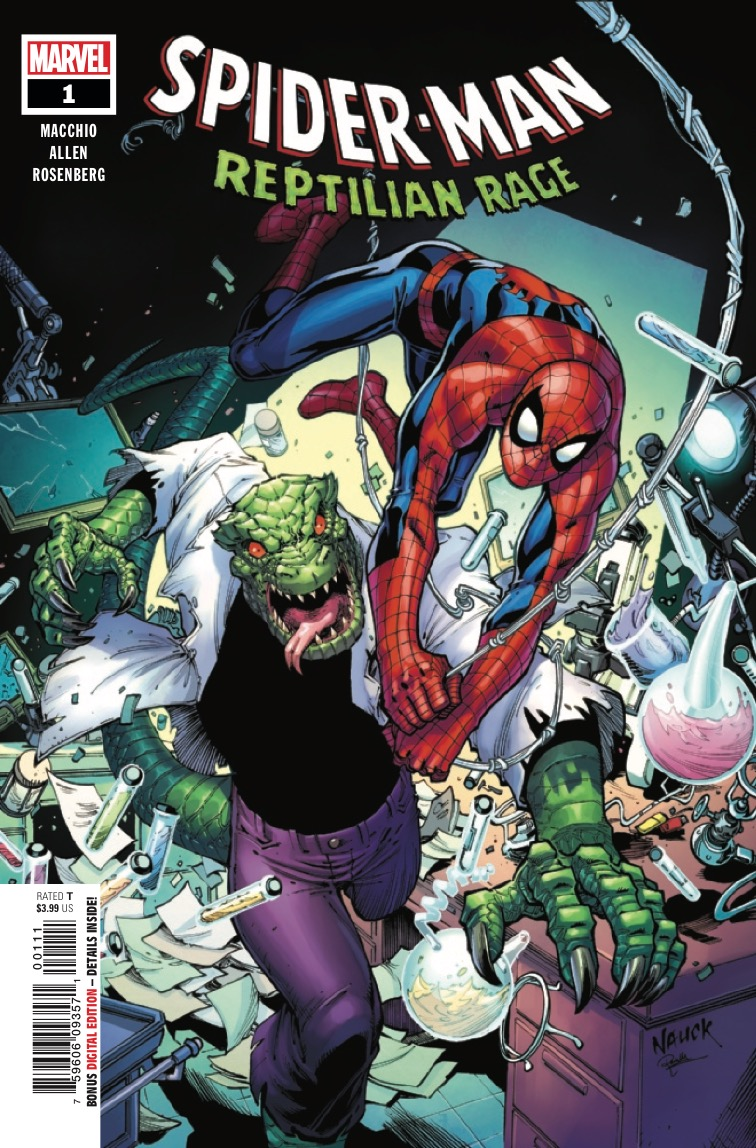 Marvel Preview: Spider-Man: Reptilian Rage #1
