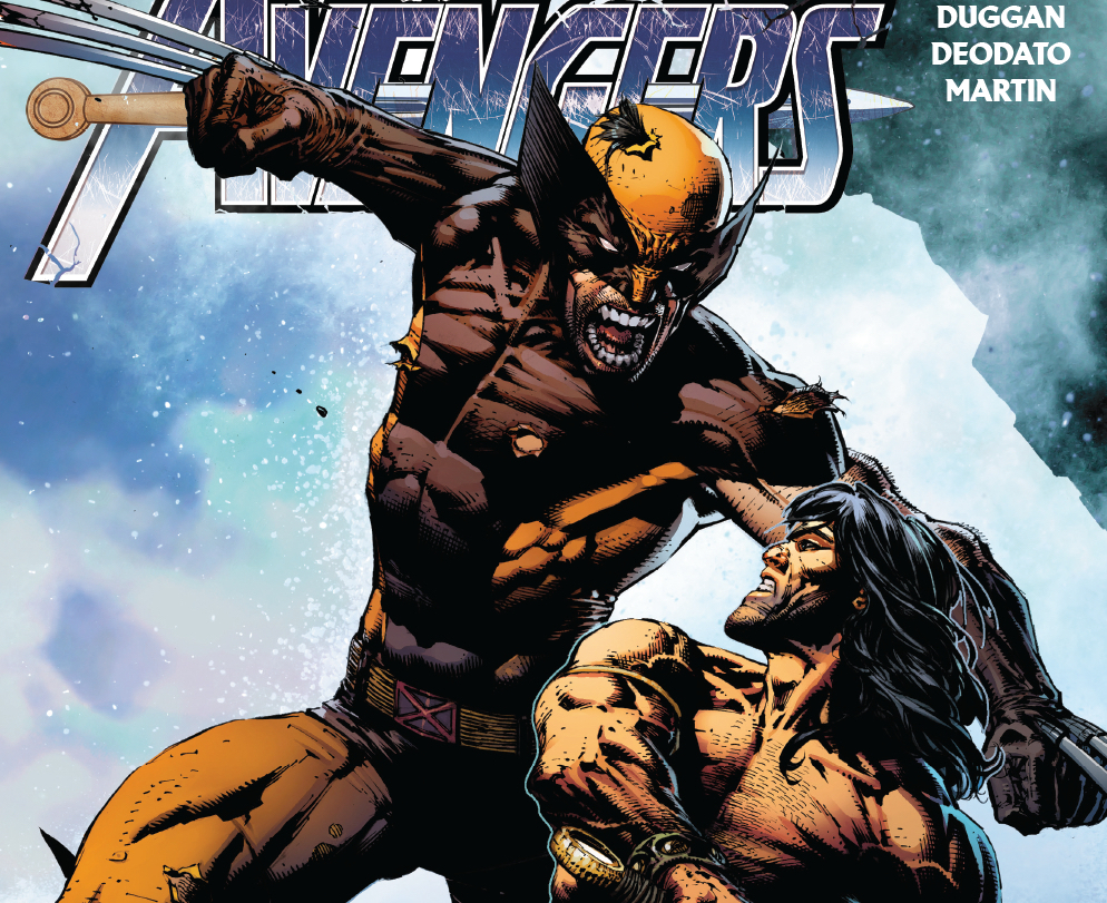 Witness Wolverine stab, get stabbed, and save a life!