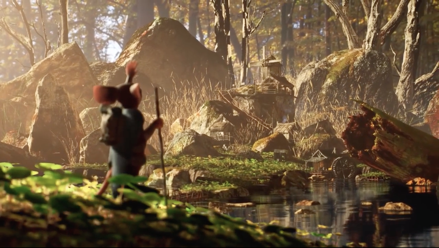 A behind-the-scenes look into the recently cancelled Mouse Guard film