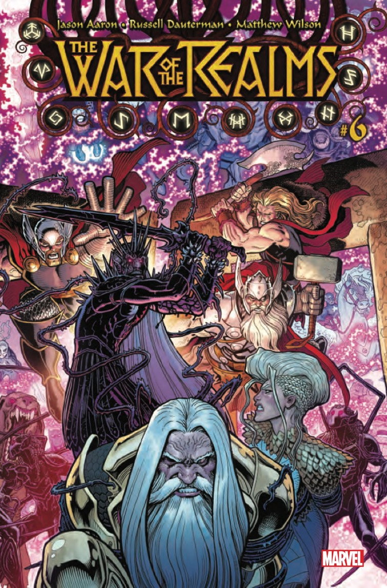 THE WORLD'S SHATTERING CONCLUSION OF WAR OF THE REALMS!