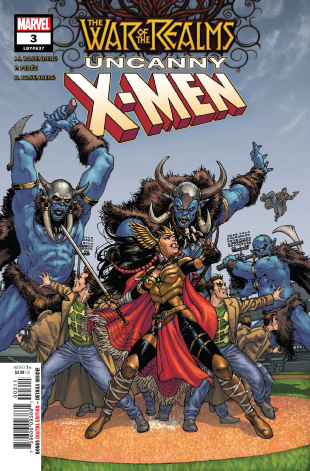 War of the Realms: Uncanny X-Men #3 Review: The X-Men hold their own as New York freezes over but they pay a price