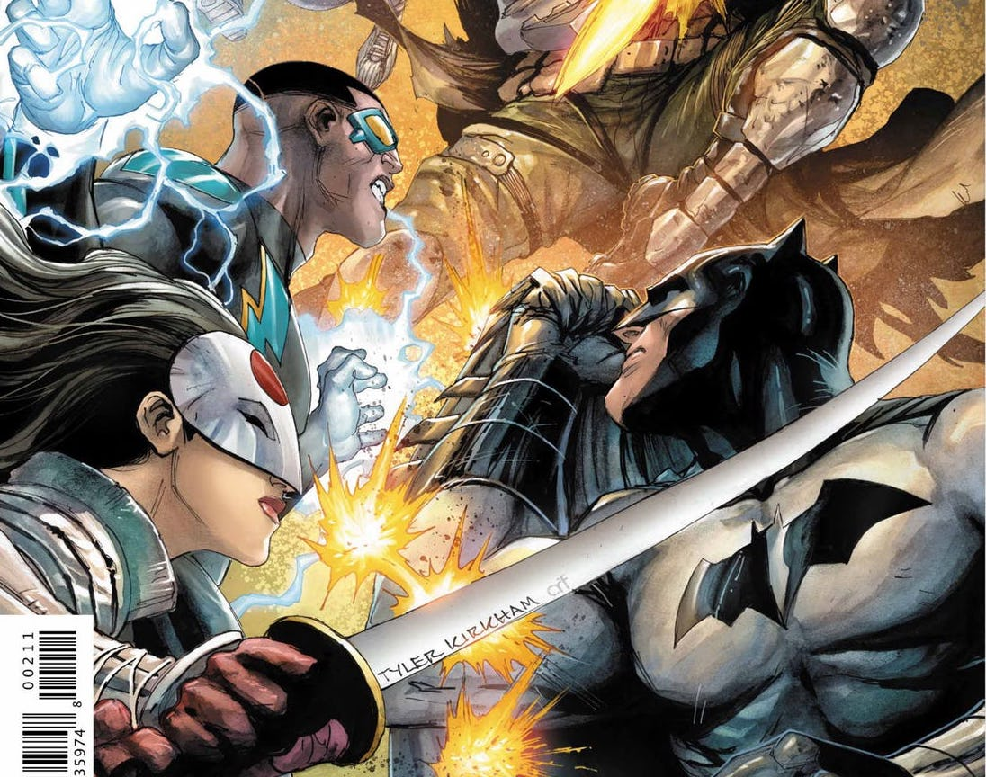 Batman and the Outsiders #2 review: As above, so mediocre