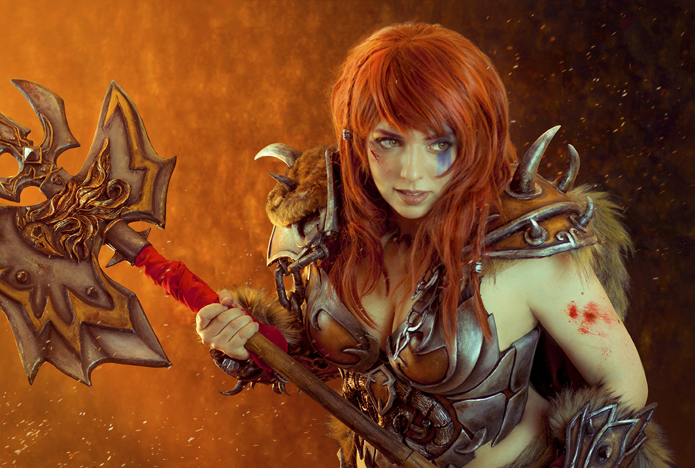 Diablo 3: Barbarian cosplay by Anhyra