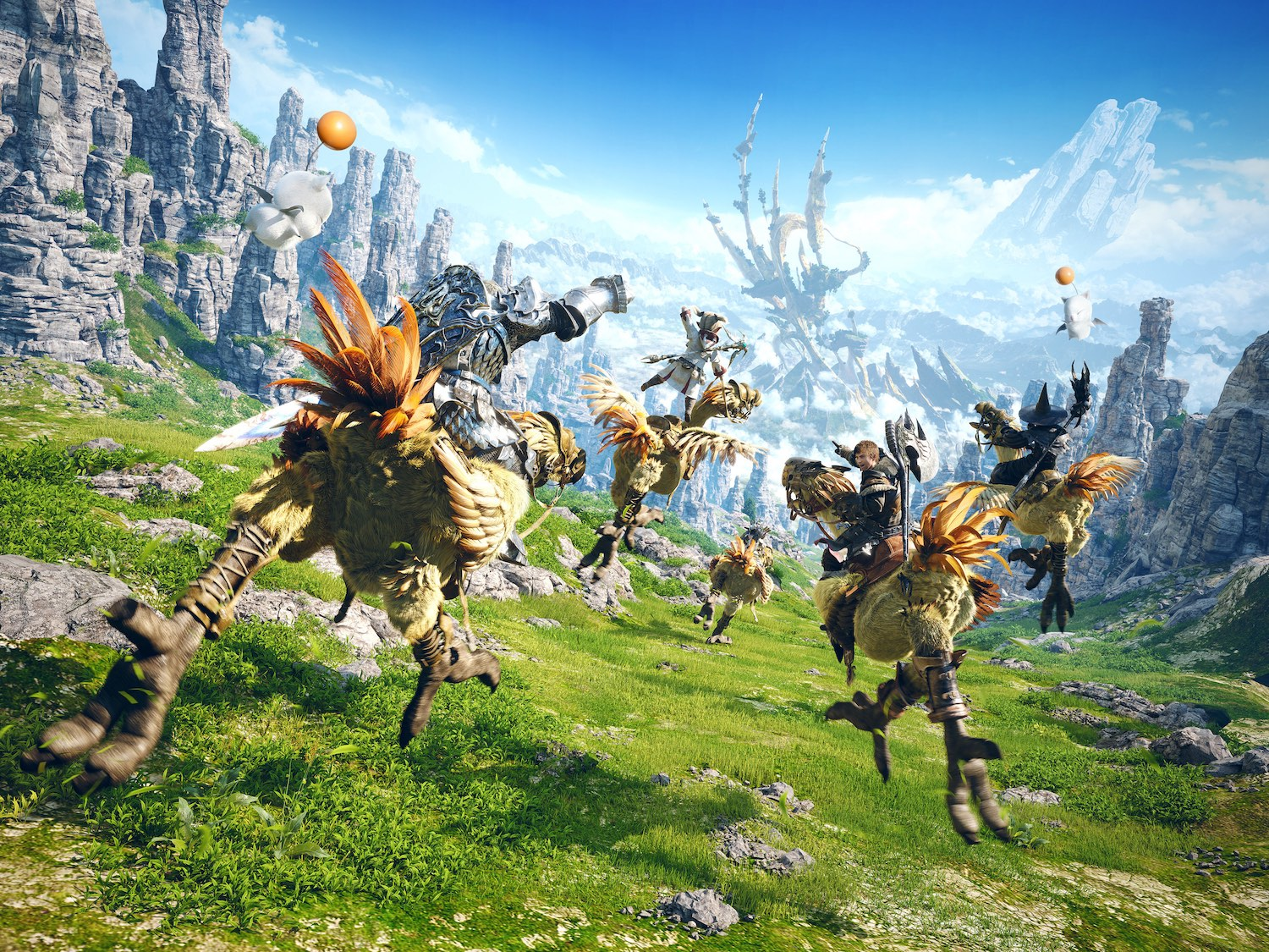 Final Fantasy XIV being developed into a live-action TV series