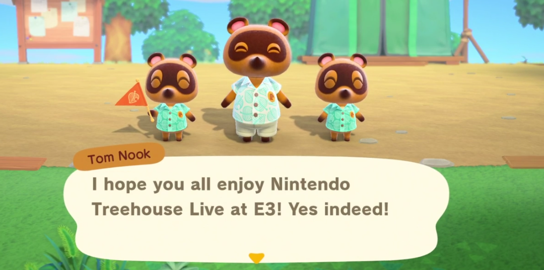 During Nintendo's E3 Treehouse Livestream, they showed off gameplay from early moments in Animal Crossing: New Horizons, the long-awaited entry in the Animal Crossing franchise coming to Switch March 20, 2020.