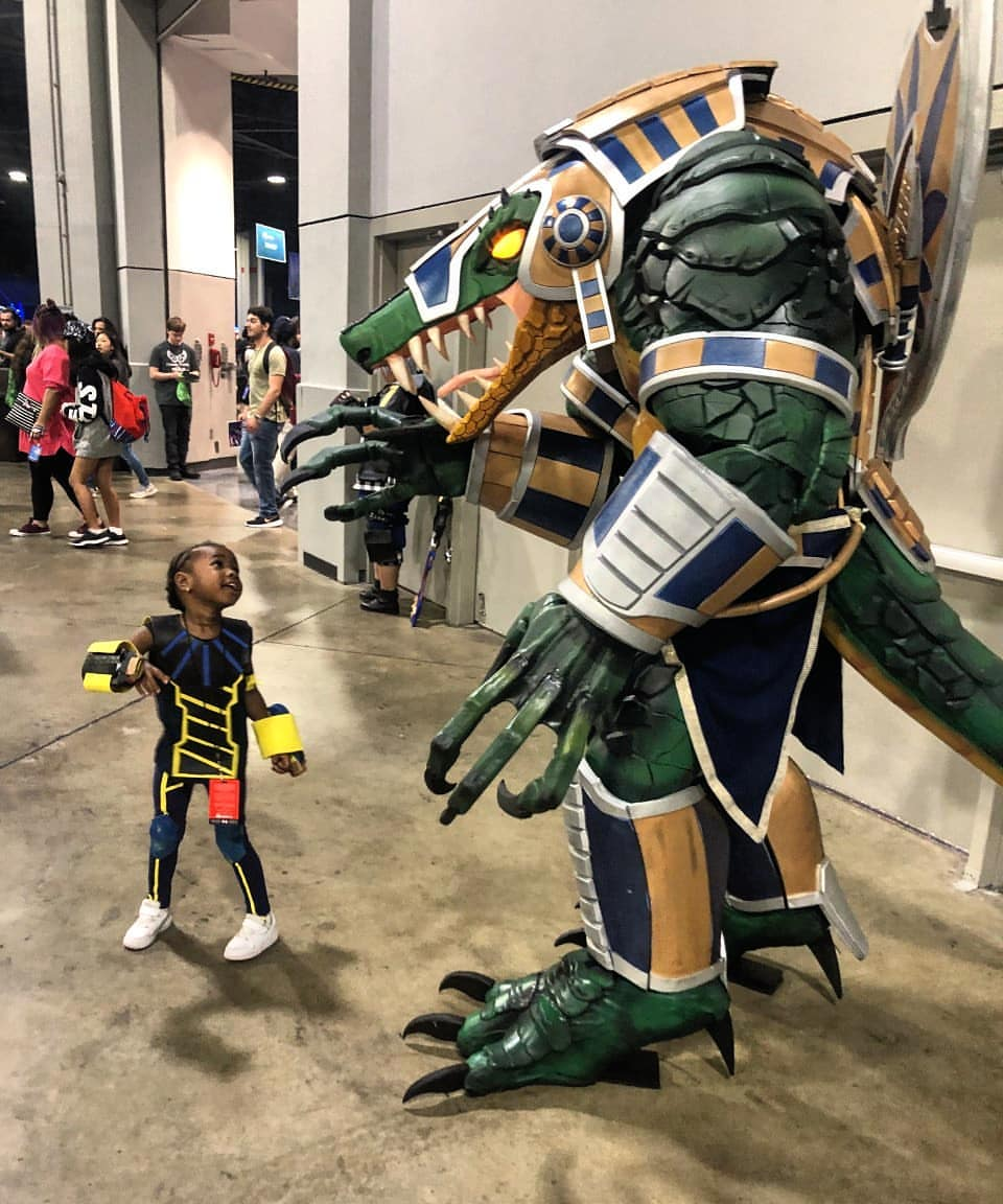 This Sobek cosplay by Charles Conley looks like it's at the top of the food chain and then some.