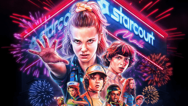 Netflix begins Stranger Things 3's one month count down with new poster